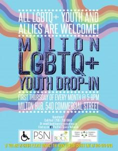 Milton LGBTQ+ Youth Drop-In Program