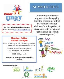 Camp Unity Halton