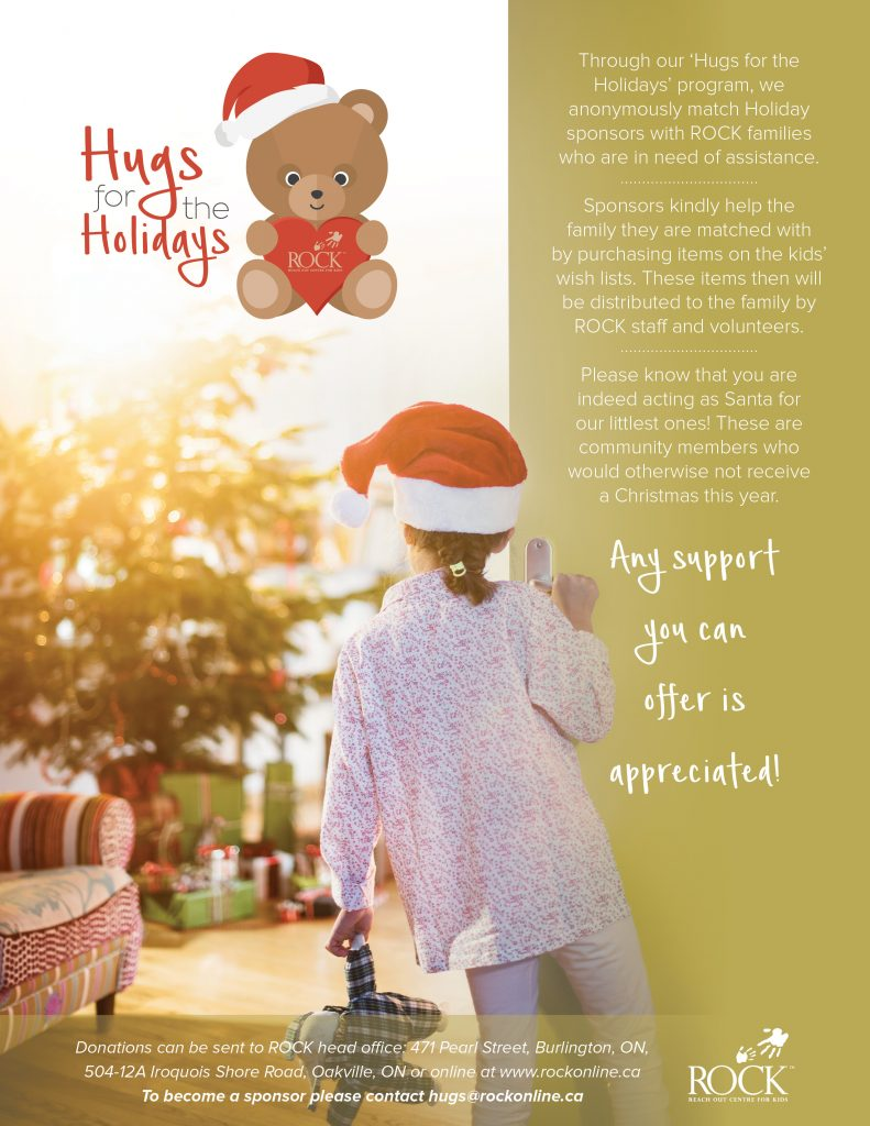 Hugs for the Holidays 2016